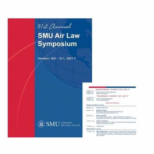 Alan Mortensen Speaks at 51st Annual SMU Air Law Symposium